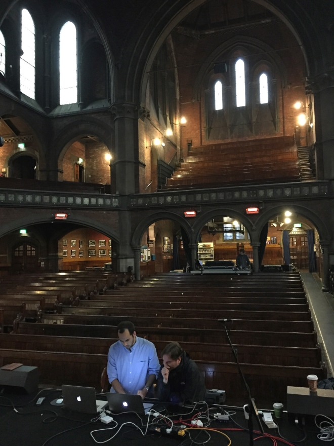 In the Union Chapel Space